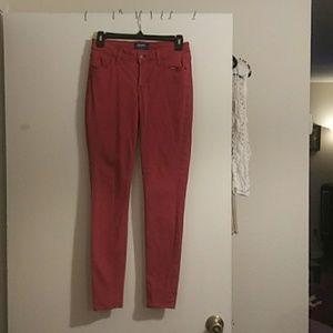 Strech cranberry color